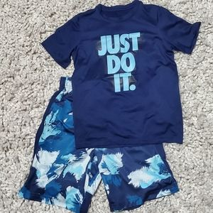 {Nike} Shorts & Tee outfit
